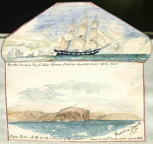 Icebergs and ship (p. 107) | by Toronto Public Library Special Collections