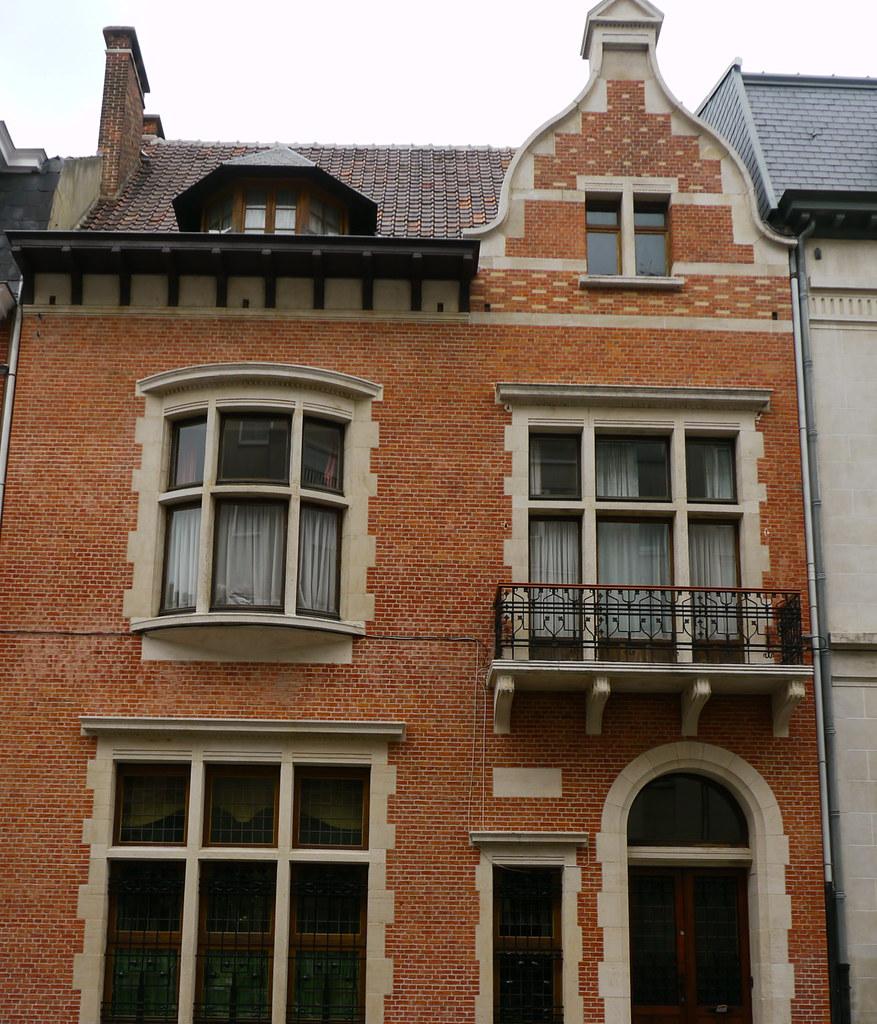Bruxelles, Belgique: 11 rue de Crayer, maison bourgeoise t… | Flickr