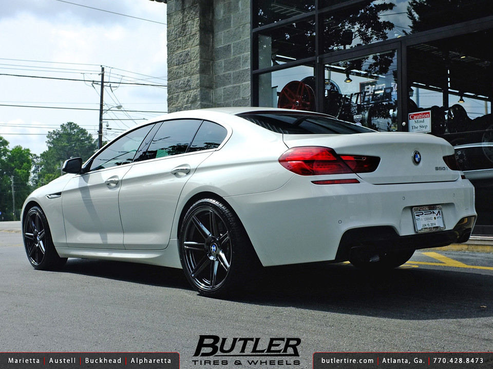 Bmw 650i Gran Coupe With 20in Niche Lucerne Wheels Flickr