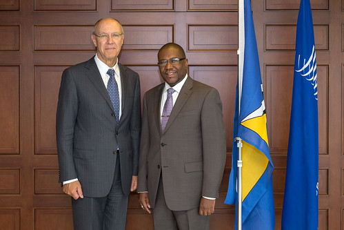 WIPO Director General Meets St. Lucia Minister for External Affairs and International Trade | by WIPO | OMPI