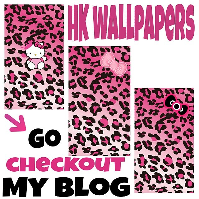Free Hello Kittypink Leopard Wallpapers That Fit Iphone 5 Flickr