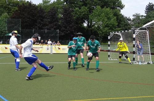 Paralympic 5-a-side football: Victoria Kirchderne v VSV Würzburg