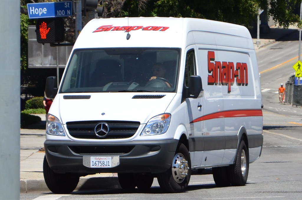 Snap On Mercedes Benz Sprinter Van Navymailman Flickr