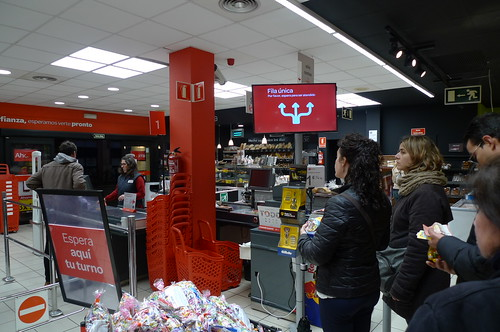 Carrefour Checkout - Jerez de la Frontera, Spain