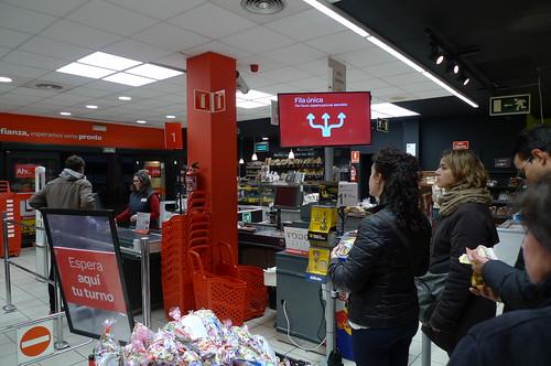 Carrefour Checkout - Jerez de la Frontera, Spain