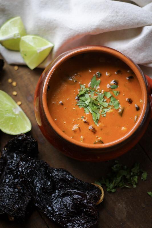V2 Chile Ancho Soup