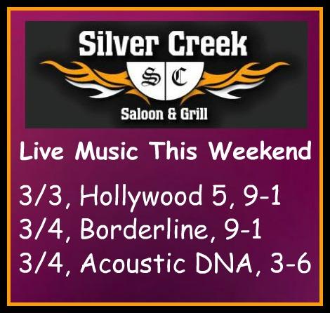 Silver Creek Poster 3-3-17