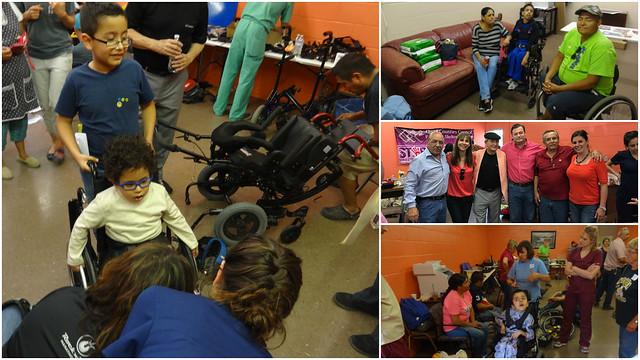 Donación de sillas de ruedas, gran ejemplo de cooperación bilateral