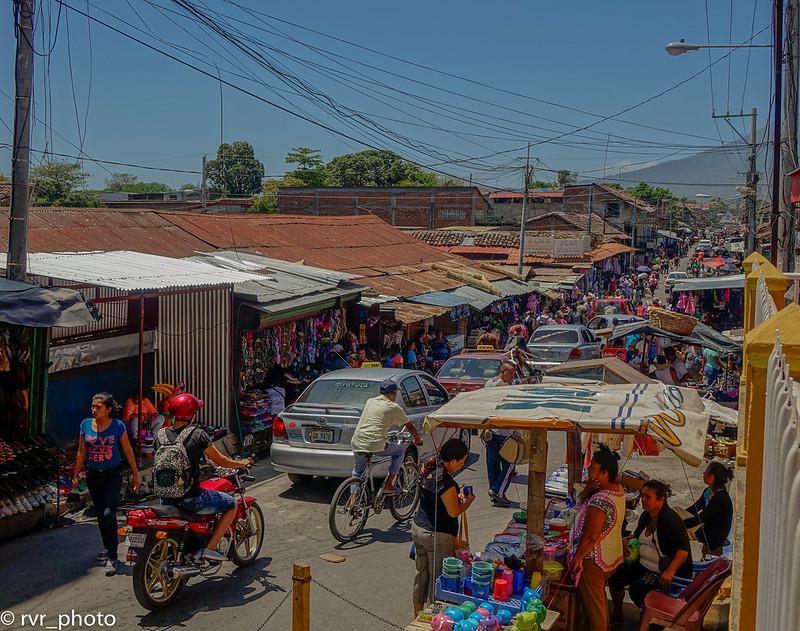 Exteriores Mercado de Granada, Nicaragua