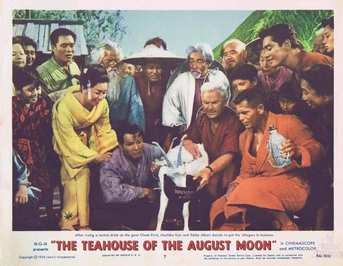 The Teahouse of the August Moon - lobbycard 2