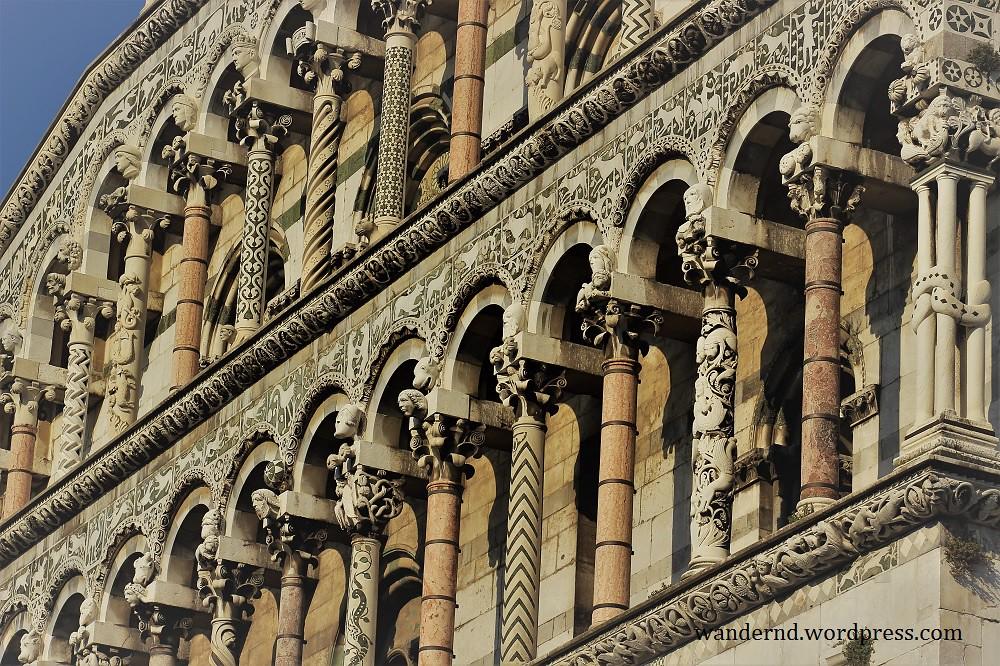 Lucca San Michele Fassade Details