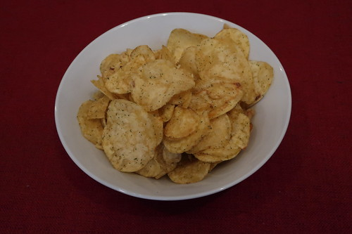 Burt's British Handcooked Potato Chips (Vintage Cheddar & Spring Onion)