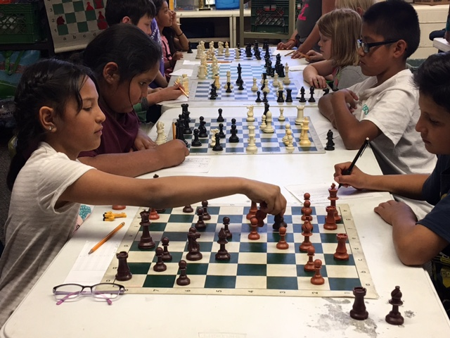 Chess at Killip Elementary School