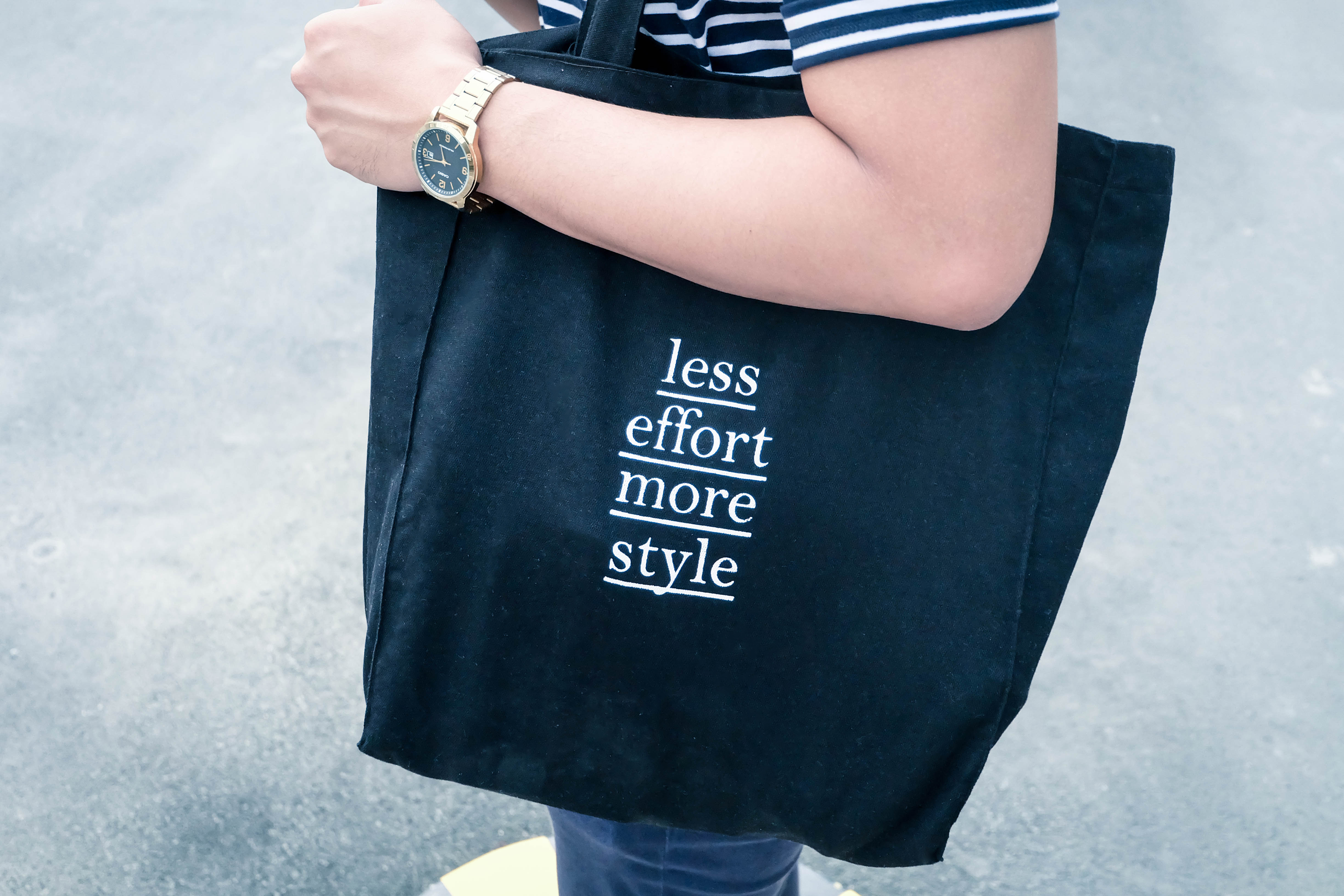Less Effort More Style