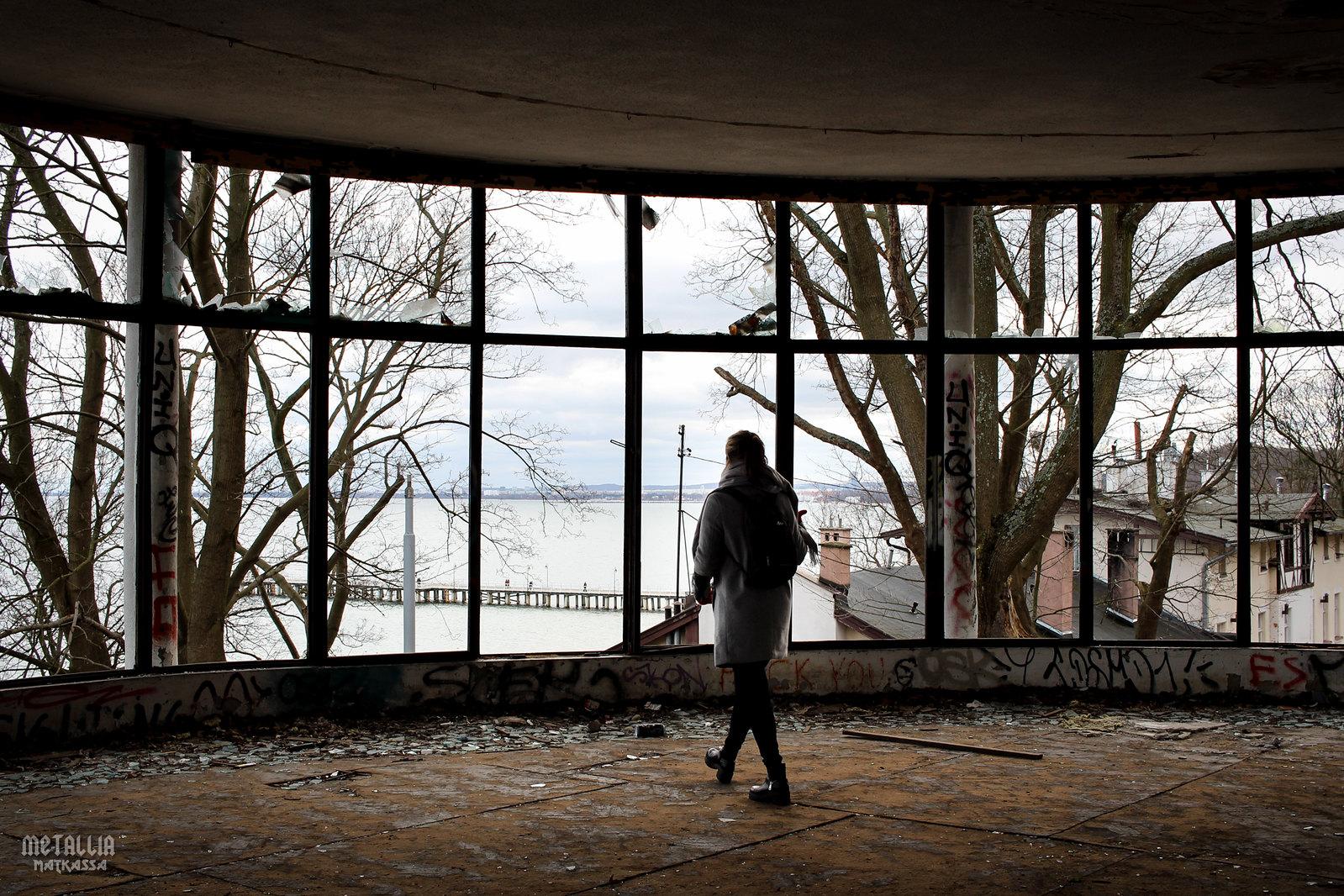 orlowo sanatorium, Sanatorium w Orłowie, abandoned hotels, urban exploration, urbex, hylätyt hotellit, gdynia, visit gdynia
