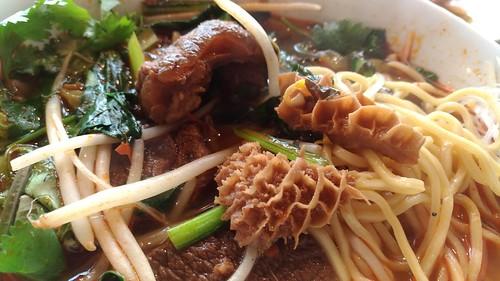 「台湾料理故宮」のニュウロウメンの具
