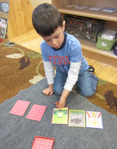 telling a story with story cards