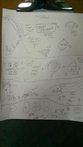 Sketchnoting tall tales