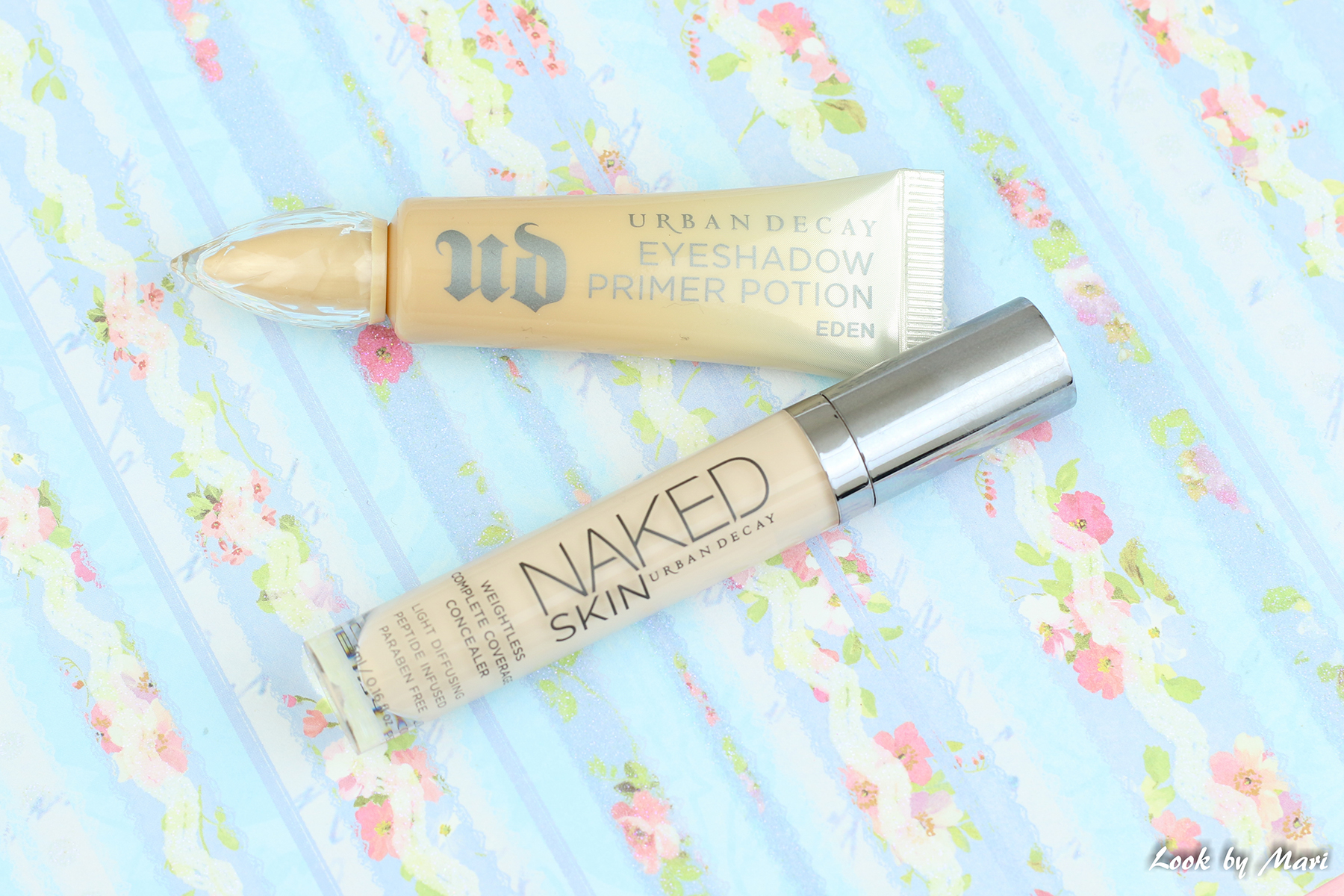 4 Urban decay eyeshadow primer potion eden kokemuksia review naked skin concealer fair neutral