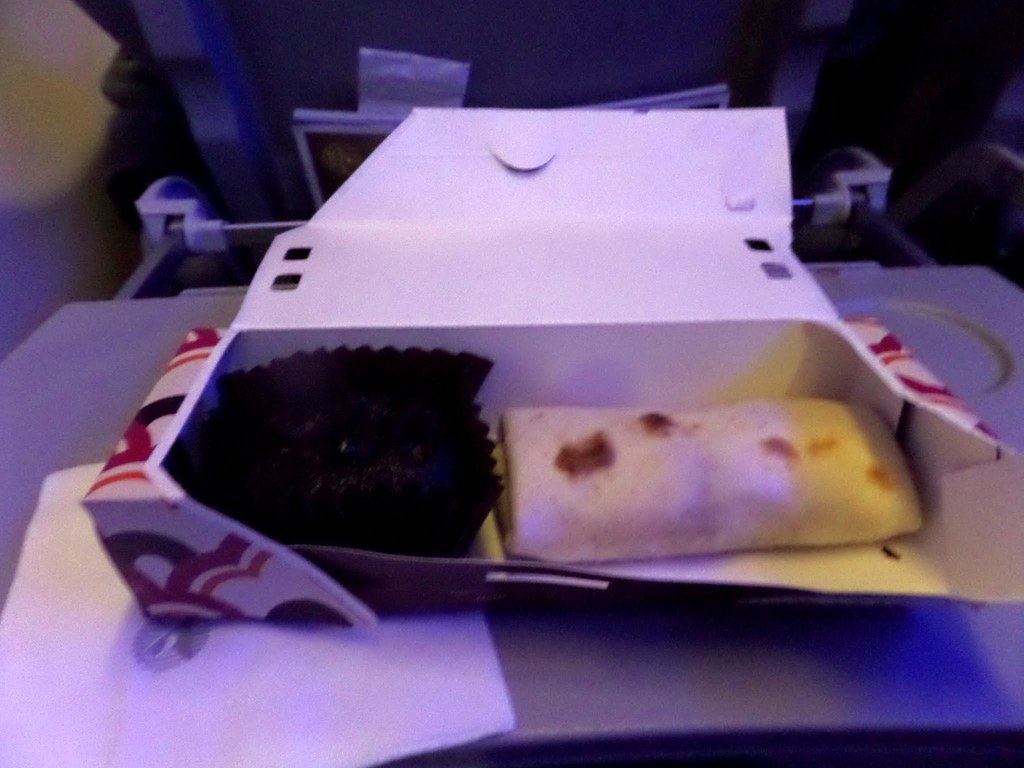 Qatar Airways snack