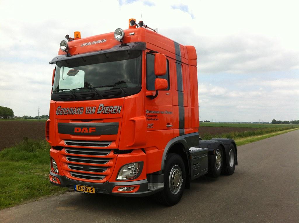 Voorkeur DAF XF FTG (6x2) Space Cab - Gerdinand van Dieren   DAF Trucks  SB79