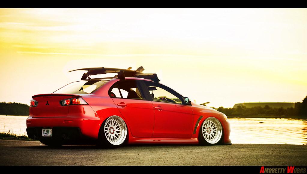 Mitsubishi Evo X Amorettyworks Flickr