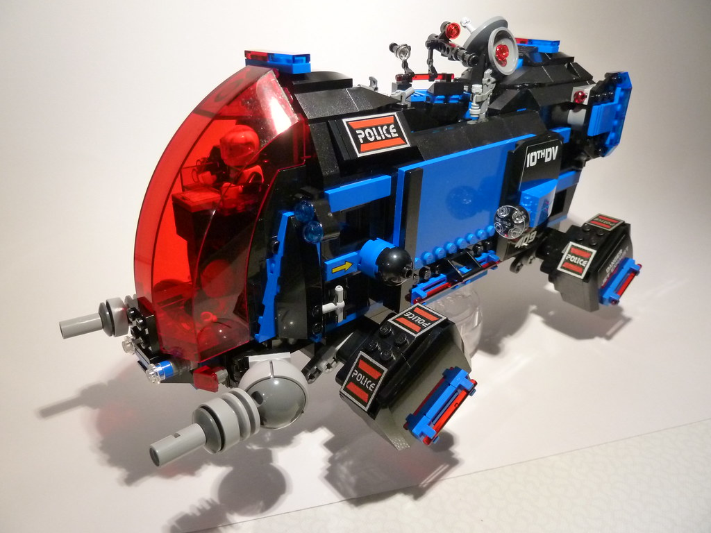 70815 B Super Secret Space Police Dropship 70815 B