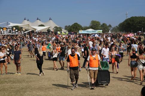 festival site