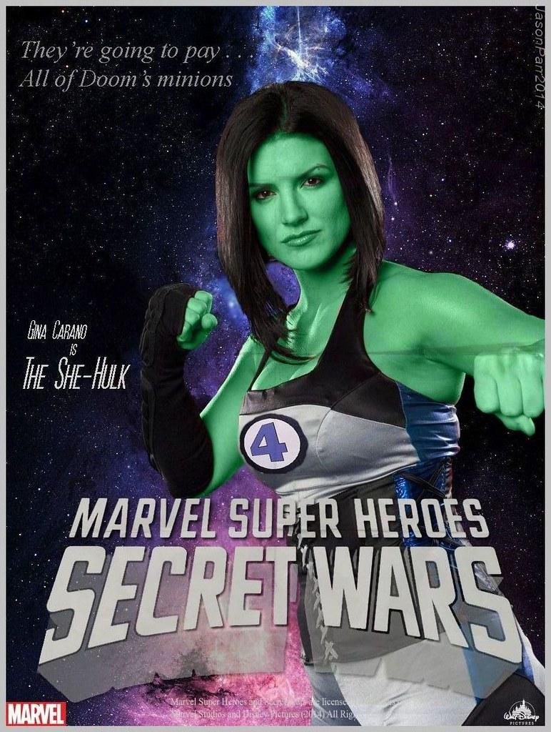 Secret Wars Character Poster; She Hulk | Jason Parr | Flickr
