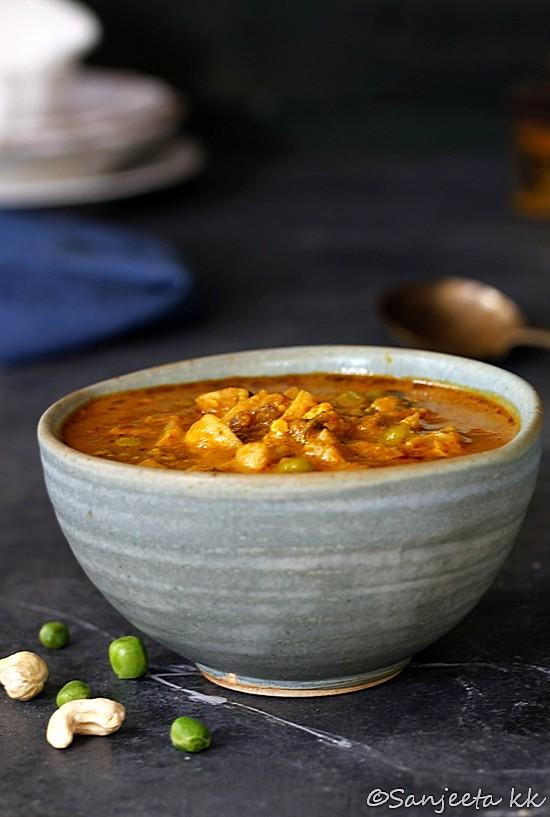 Recipe & Food Styling | Shahi Mushroom Curry