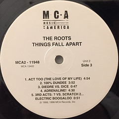THE ROOTS:THINGS FALL APART(LABEL SIDE-C)
