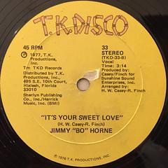 JIMMY BO HORNE:GET HAPPY(LABEL SIDE-B)