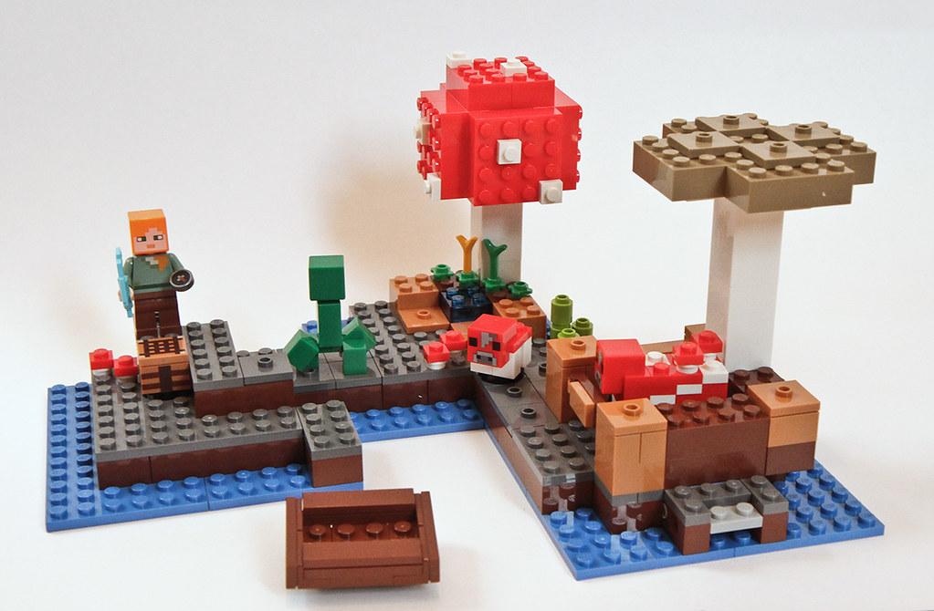 Review: 21129 The Mushroom Island   Brickset: LEGO set guide and ...