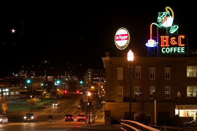 Downtown Roanoke - Neon Signs