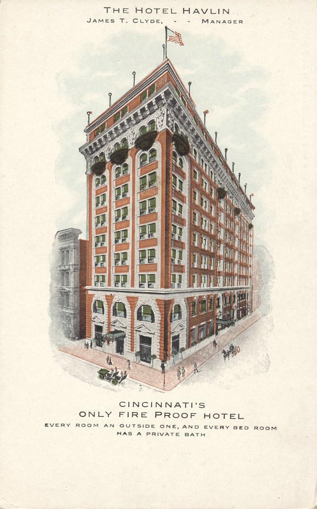 Hotel Havlin - Cincinnati, Ohio