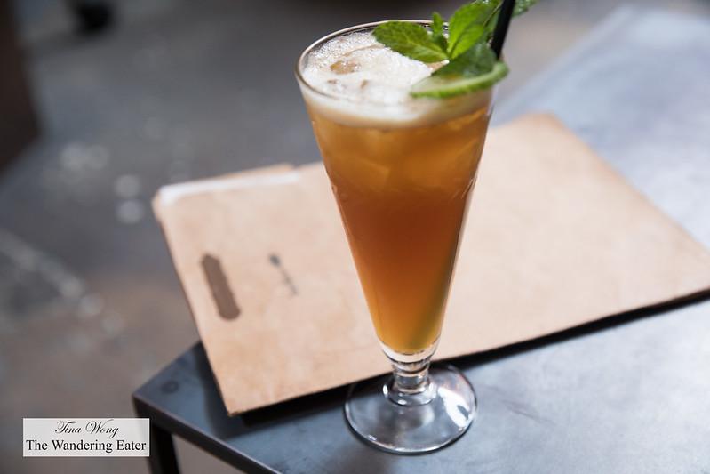 Pimmsy Whimsy - Pimm's, lemon, chartreuse, ginger beer