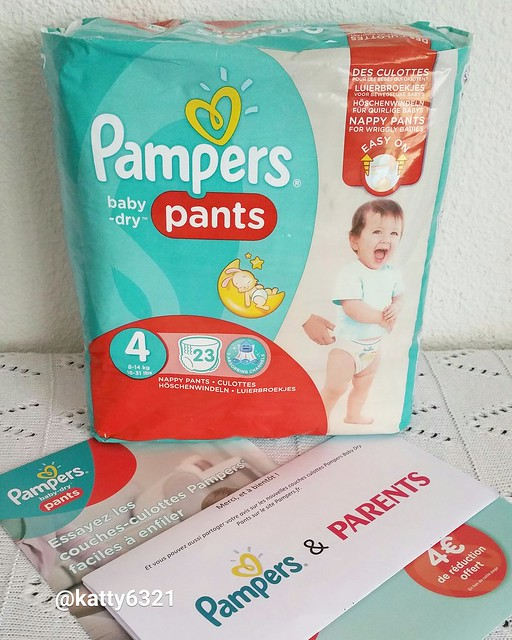 Coupons reduction couche pants pampers