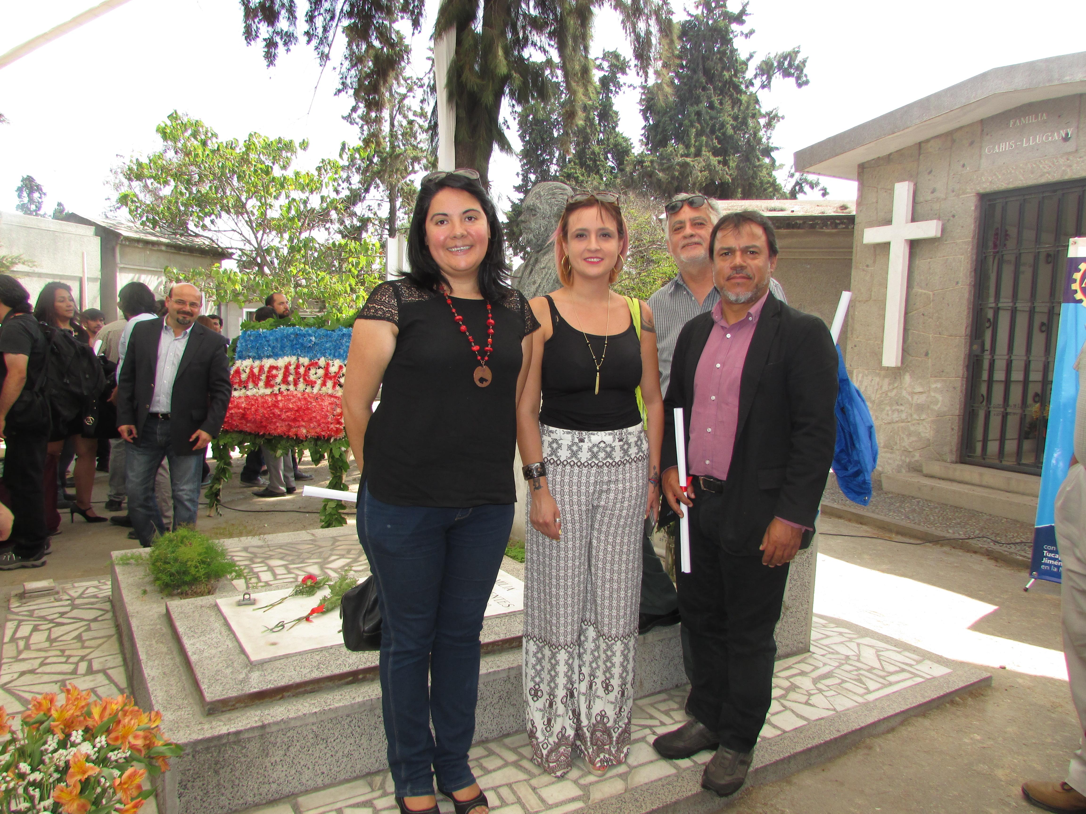AFUSEC en Conmemoración de muerte Tucapel Jiménez - 27 Febrero 2017