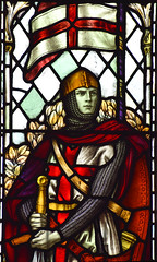 St George of England by William Aikman, 1920