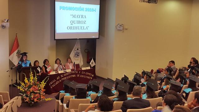 230317 NP - FACULTAD DE OBSTETRICIA y ENFERMERÍA REALIZÓ CEREMONIA DE TITULACIÓN DE NUEVOS PROFESIONALES EN OBSTETRICIA