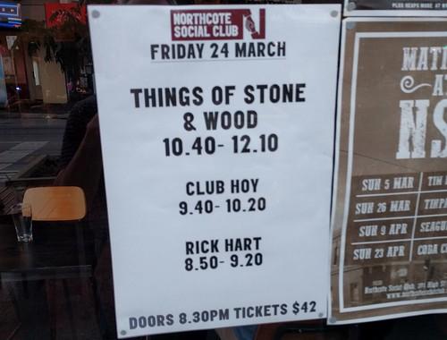 Northcote Social Club, 24/3/2017