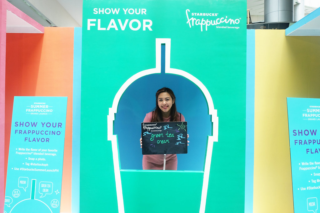 Patty Villegas - The Lifestyle Wanderer - Starbucks - Philippines - Frappuccino - Grand Launch - Mall of Asia Atrium - Pop'zel Coffee -12