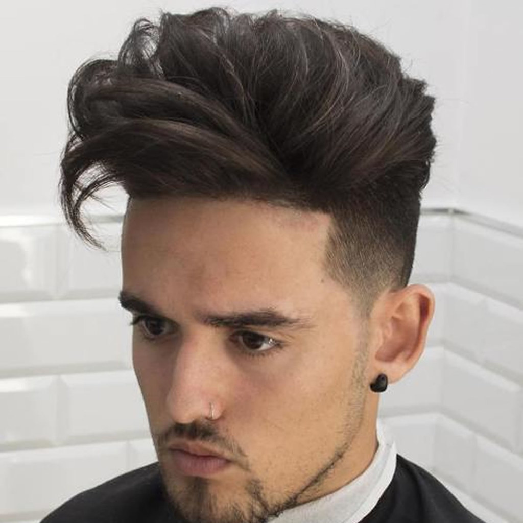 2018 Mens Haircuts Long Top Undercut For Guys Hairstyl Flickr