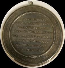 George III Medal Reverse