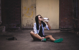 Drunk girl | by Andrew Bro