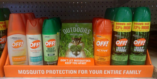 Off! Mosquito and Tick Repellent with DEET