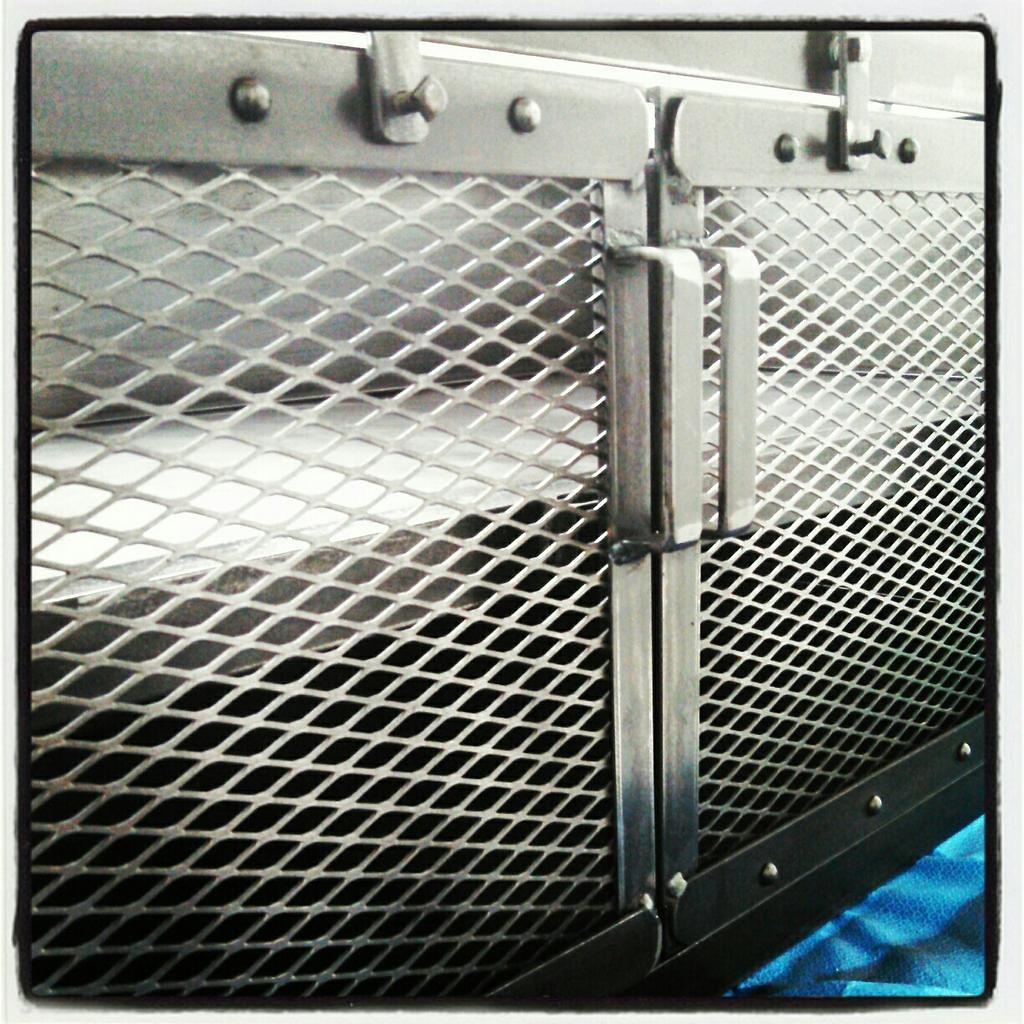 Charmant ... Justin Custom Industrial Cabinet, Steel Mesh Doors, Custom Handmade  Latches, Industrial Furniture, Justin