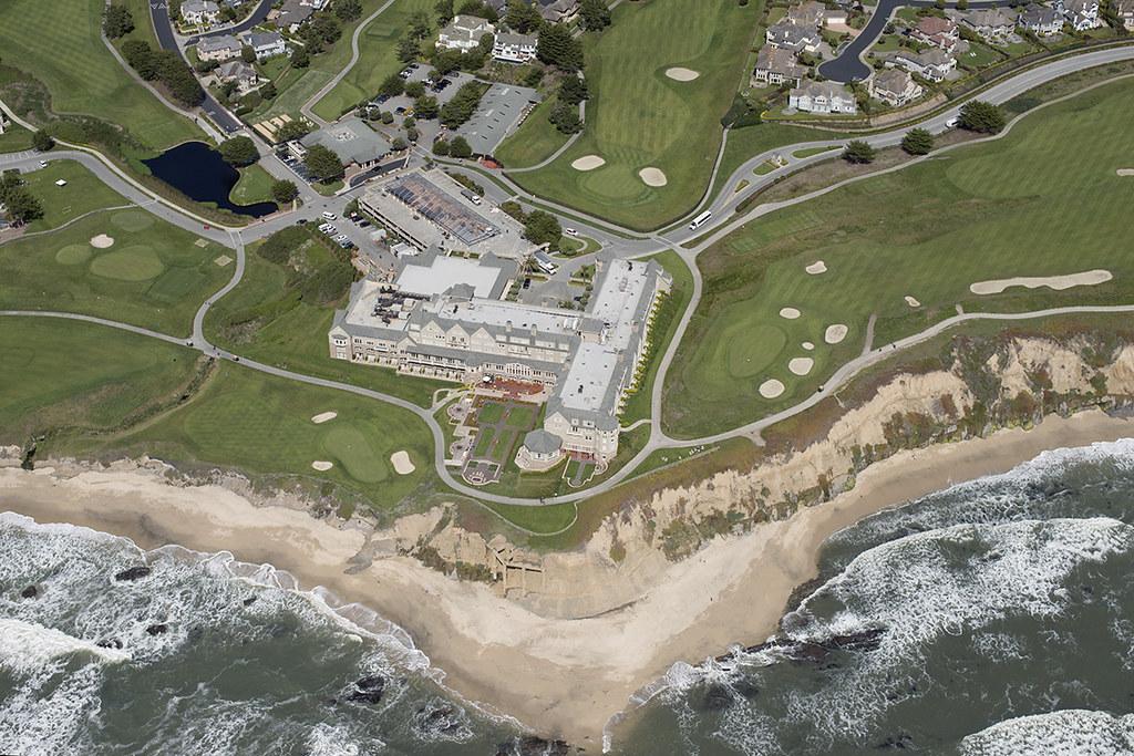 Aerial view of The Ritz Carlton Half