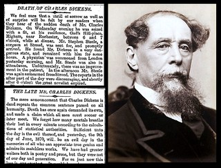 9th June 1870 - Death of Charles Dickens | by Bradford Timeline
