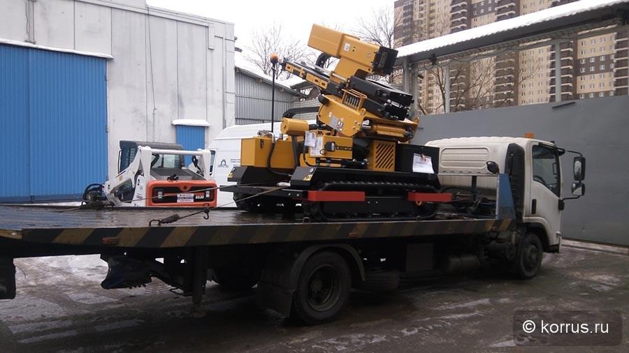 самоходная машина ORTECO BTP HEAVY DUTY Покупателю из Краснодарского края